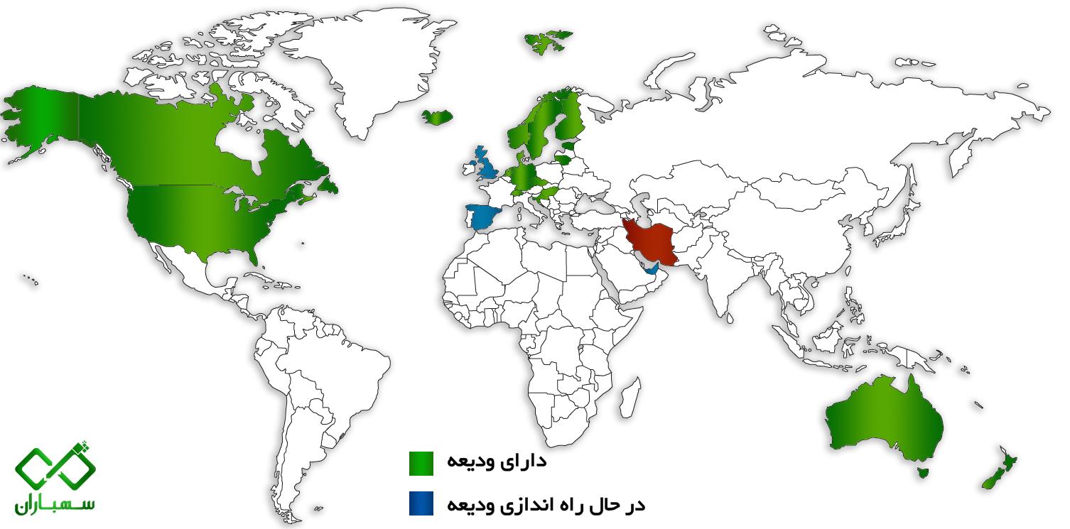Deposit return scheme - global map